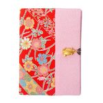 Chirimen Fabric Passport Case
