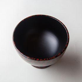 """""""Tsuishu"""" Lacquer """"Gouroku"""" Bowl"""