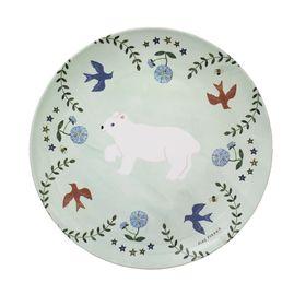 Aiko Fukawa Melamine Tableware Dish and Cup set - Little Bear