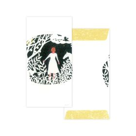 Nishi Shuku  Mino‐washi Celebratory (Gift-money) Envelope - The Story of Forest