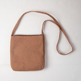 """Sakabukuro Hagi"" Front Pocket Shoulder Bag"
