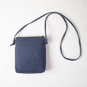 """""""Aizome Hagi"""" Crossbody Bag with 2 zippers"""