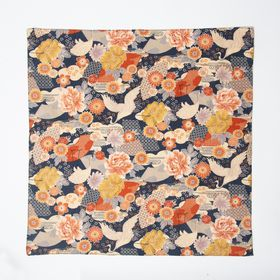 """Kofuroshiki"" Large Handkerchief -Crane"