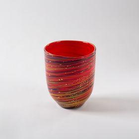 """""""Ryubu"""" (Okinawan Dance) Glass 2 sets"""