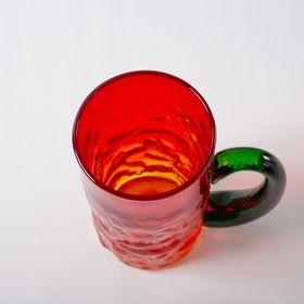 Bumpy Mug - Set of 5, Orange