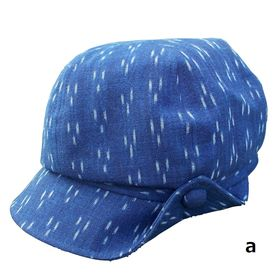 """Bingo Kasuri"" Newsboy Cap for women"